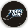 Tampa Bay Rays MLB Black Spare Tire Cover