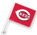 Cincinnati Reds MLB Car Flag