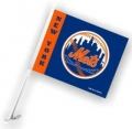 New York Mets MLB Car Flag