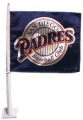 San Diego Padres MLB Car Flag