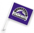 Colorado Rockies MLB Car Flag
