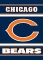 "Chicago Bears NFL 28"" x 40"" 2-Sided Banner"