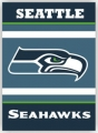 "Seattle Seahawks 28"" x 40"" 2-Sided Banner"