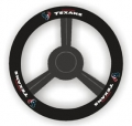 Houston Texans Leather Steering Wheel Cover