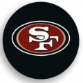 San Francisco 49ers NFL Black Spare Tire Cover