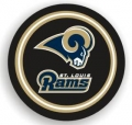 St. Louis Rams NFL Black Spare Tire Cover