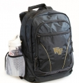 Wake Forest Demon Deacons NCAA 2 Strap Laptop School Backpack-FREE SHIPPING