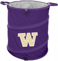 Washington Huskies NCAA Collapsible Trash Can