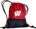 Wisconsin Badgers NCAA School String Pack Backpack