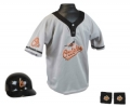 Baltimore Orioles MLB Youth Helmet and Jersey Set