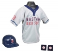 Boston Red Sox MLB Youth Helmet and Jersey Set
