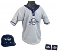 Milwaukee Brewers MLB Youth Helmet and Jersey Set