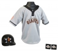 San Francisco Giants MLB Youth Helmet and Jersey Set