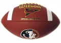 Florida State Seminoles Collectible Composite NCAA Wilson Football
