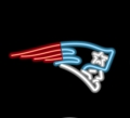 New England Patriots Commercial Grade NFL Neon Pub Sign-FREE SHIPPING