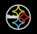 Pittsburgh Steelers Commercial Grade NFL Neon Pub Sign-FREE SHIPPING