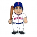 Boston Red Sox Dancing Musical Baseball Player Doll