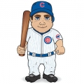 Chicago Cubs Dancing Musical Baseball Player Doll