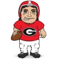 Georgia Bulldogs Dancing Musical Halfback Mascot Doll