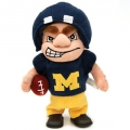 Michigan Wolverines Dancing Musical Halfback Mascot Doll