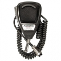 Astatic 636L Noise Canceling 4-Pin CB Black Microphone