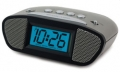 Equity Digital Clock with LCD Blue Display and Super Loud Alarm