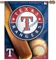 "Texas Rangers MLB 27"" x 37"" Vertical Outdoor Flag"
