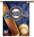 "Milwaukee Brewers MLB 27"" x 37"" Vertical Outdoor Pole Flag"