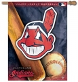 "Cleveland Indians MLB 27"" x 37"" Vertical Outdoor Flag"