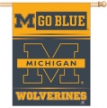 "Michigan Wolverines 27"" x 37"" Vertical Outdoor Flag"
