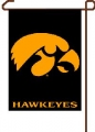 "Iowa Hawkeyes 11"" x 15"" NCAA Garden Flag"