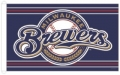 Milwaukee Brewers MLB 3 x 5 Flag