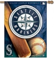 "Seattle Mariners MLB 27"" x 37"" Vertical Outdoor Flag"