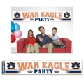 "Auburn Tigers Football ""War Eagle"" Party Banner"