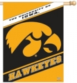 "Iowa Hawkeyes 27"" x 37"" Vertical Outdoor Flag"