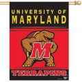 "Maryland Terrapins 27"" x 37"" Vertical Outdoor Pole Flag"