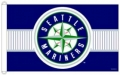 Seattle Mariners MLB 3 x 5 Flag