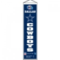 "Dallas Cowboys NFL Wool 8"" x 32"" Heritage Banners"