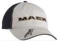 Mack Trucks Black & Khaki Bulldog Logo Cap