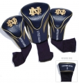 Notre Dame Fighting Irish Golf Club 3 Piece Contour Headcover Set