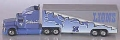 Detroit Lions White Rose Collectible Tractor Trailer '98