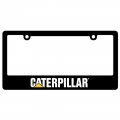 Caterpillar CAT Black Plastic License Frame Plate