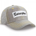 Caterpillar CAT Est. 1925 Gray Chambray Cap