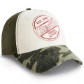 Caterpillar CAT Camouflage Camo Retro Cap