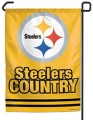 "Pittsburgh Steelers ""Steelers Country"" 11"" x 15"" NFL Garden Flag"