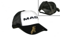 Mack Trucks Black & White Mesh Snapback Trucker Hat