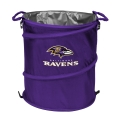Baltimore Ravens NFL Collapsible Trash Can