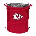 Kansas City Chiefs NFL Collapsible Trash Can