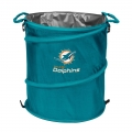 Miami Dolphins NFL Collapsible Trash Can