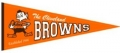 Cleveland Browns NFL Throwback Wool Pennant